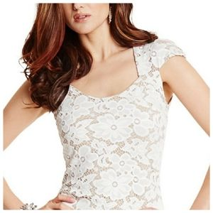 MARCIANO Floral Dress